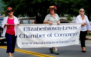 ETown Day Parade - Chamber Banner