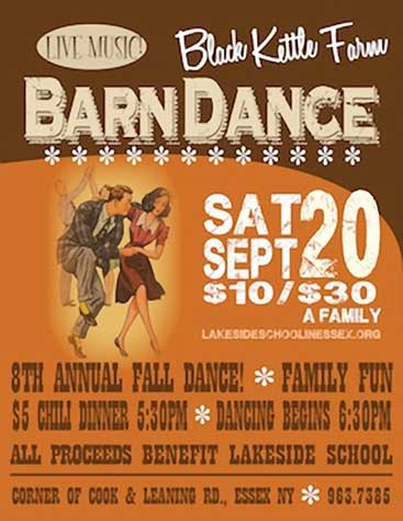 Black Kettle Farm Barn Dance! @ Lakeside School at Black Kettle Farm | Essex | New York | United States